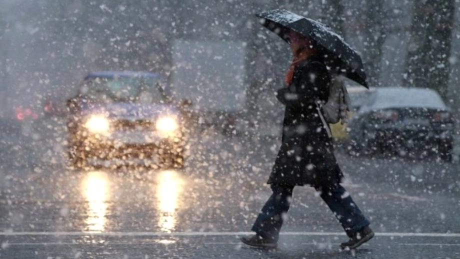 AVERTIZARE METEO. Ploi, lapoviţă şi ninsori în aproape toată ţara