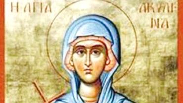Calendar ortodox, 13 iunie: pomenirea sfintei mucenițe Achilina