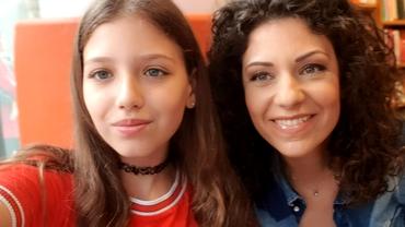 Cum arată nepoata lui Mircea Badea. Frumoasa adolescentă a împlinit 14 ani