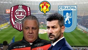 CFR Cluj și U Craiova, program special pentru Supercupă. Campioana pleacă direct în Bosnia din Capitală. Exclusiv