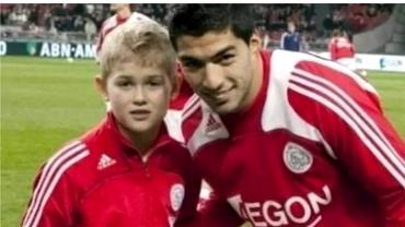 Fotografia care îi face să viseze pe fanii lui Juventus. Copilul de lângă Luis Suarez îi poate fi acum coechipier