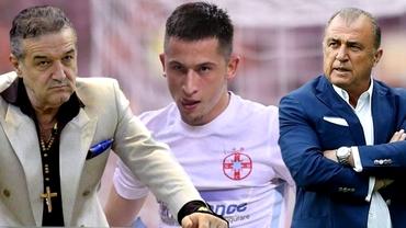 """Gigi Becali, tiradă la adresa lui Olimpiu Moruțan, după Rapid - FCSB: """"Anunțați-l pe Terim! Îl vând cu trei milioane!"""""""