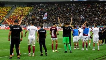 Fanatik a surprins bucuria rapidiștilor la finalul derby-ului cu FCSB. Reacția de senzație a lui Mihai Iosif. Exclusiv
