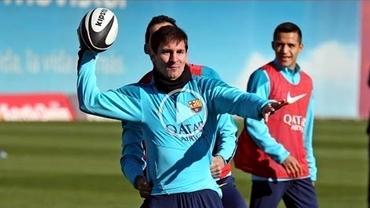 """VIDEO / Barcelona s-a inspirat din Super Bowl: Messi a fost """"QB""""!"""
