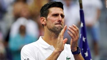 Campioni și ai emoțiilor! Lacrimile lui Novak Djokovic, moment pentru istorie pe Arthur Ashe. Nadal și Federer au pățit-o și ei. Video
