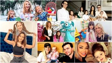 Cum petrec mămicile din showbiz de Ziua Copilului! Au pregătit mari surprize pentru cei mici