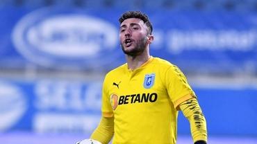 Mirko Pigliacelli, pe cale să plece de la Universitatea Craiova! Clubul din Italia care îl dorește pe portarul oltenilor