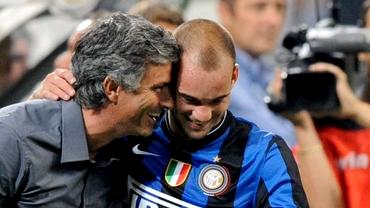 """Wesley Sneijder, povești din colaborarea cu Jose Mourinho la Inter Milano: """"Știa că fumăm și bem"""""""