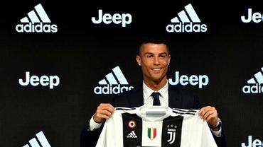 Ronaldo nu marchează, dar spulberă orice record cu privire la vânzarea de tricouri la Juventus