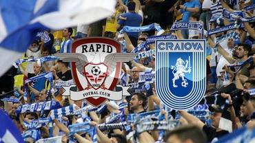 """Rapid - U Craiova va fi un derby și în tribune. Oltenii voiau să inaugureze stadionul din """"Giulești"""""""