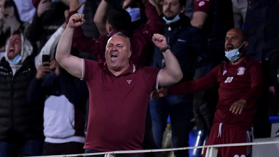 """Mihai Iosif, euforic după victoria Rapidului la Mioveni: """"O să facem o poză cu clasamentul, dar nu o punem în ramă"""""""