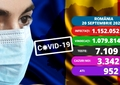 Coronavirus în România, 20 septembrie. Aproape 1.000 de persoane, la ATI. Sunt 230 de copii internați în spitale. Update