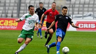 Jucătorii Sănătății Cluj, petrecere nebună după ce au eliminat-o pe Viitorul: