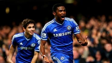 Mourinho o să EXPLODEZE! Eto'o îşi anunţă plecarea de la Chelsea. A pozat cu tricoul unui club din Spania!