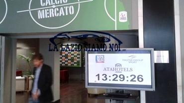 Au fost furate plăcuţele cu numele echipelor de la hotelul unde se oficiază transferuri la Milano!