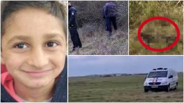 Primele imagini cu locul în care a fost găsit cadavrul lui Sebi, băiatul de 7 ani din Arad dispărut de 3 luni