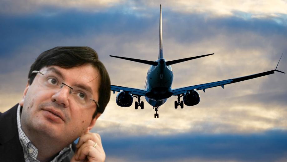 Exclusiv. Cum i-a salvat Nicolae Bănicioiu viaţa unei femei care a făcut infarct într-un avion care venea din SUA.