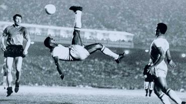 """Pelé, 80 de ani! """"Cracii"""" lui Cornel Dinu și """"foto com grande amigo"""" Rică Răducanu. Video"""