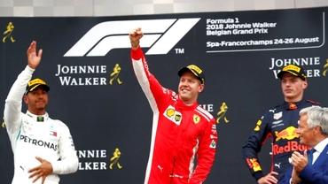 MP al Belgiei de Formula 1. Rezultate şi clasament piloţi