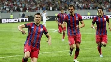 Steaua joacă pentru meciul cu Dinamo