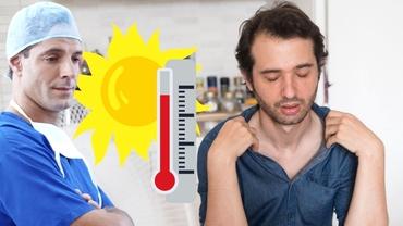 Valurile de căldură ne afecteză sănătatea. Cum putem ajuta o persoană care suferă de epuizare termică