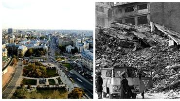 Cum a ajuns Bucureștiul cel mai periculos oraș în caz de cutremur! Ce cartiere au avut de suferit după seismul din 1977