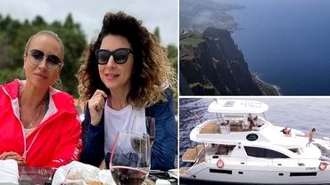Prin ce aventuri au trecut Adina Halas și Carmen Brumă în Madeira. Imagini fabuloase cu cele două vedete