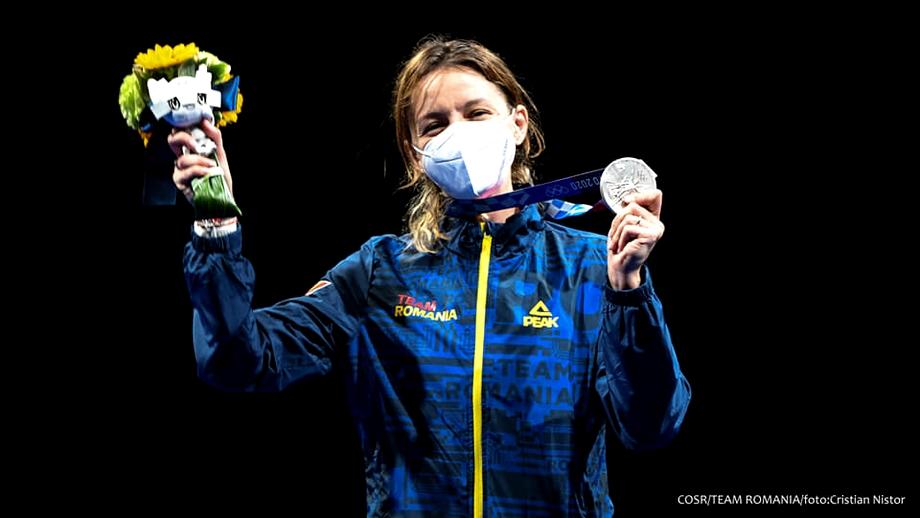 Ana Maria Popescu, drumul de la operație la genunchi la argint olimpic: