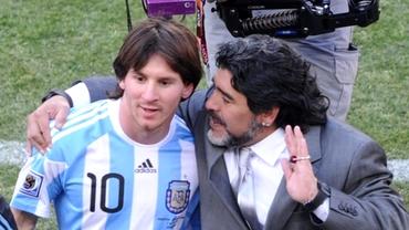 FAZĂ UNICĂ! Maradona, geniu suprem şi la 53 de ani!
