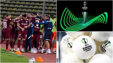 Posibilii adversari ai lui CFR Cluj în grupe! Toate calculele pentru a prinde un loc în urna a 2-a din Conference League