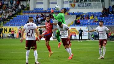 FC Botoşani - Rapid 0-2. Trupa lui Iosif duce visul mai departe! Marzouk şi Alami tranşează meciul în final