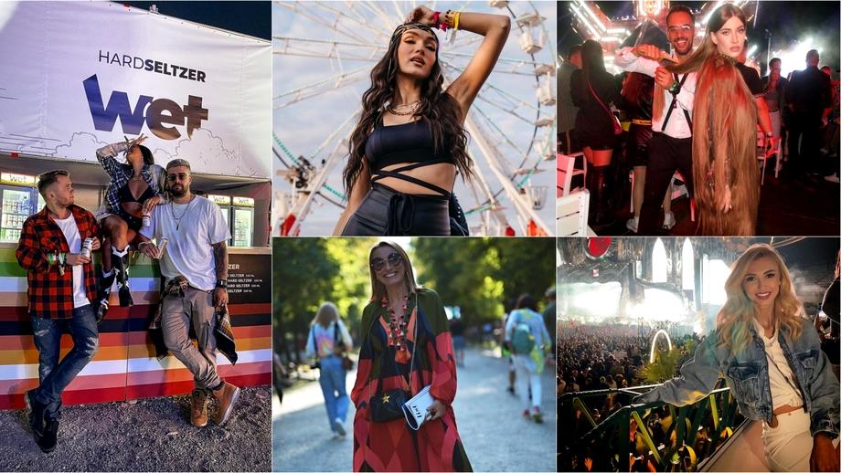 Cum s-au îmbrăcat vedetele la festivalurile anului! Starurile au încins atmosfera la UNTOLD și SAGA! Galerie foto