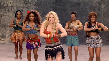 VIDEO / Shakira Waka Waka, imnul tuturor mondialelor