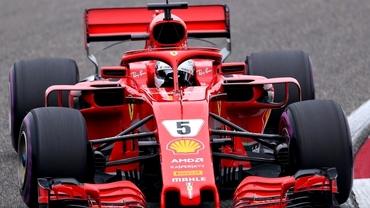 Sebastian Vettel continuă parcursul de vis! Ferrari,