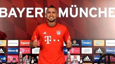 INCREDIBIL! Tatăl lui Vidal a urmărit prezentarea oficială a fiului său la Bayern din PUŞCĂRIE