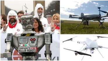 Îngrijorare la ONU. O dronă militară ar fi vânat oameni pe cont propriu. Amenințarea roboților ucigași
