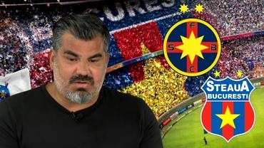 """Mircea Bornescu a tranșat războiul dintre FCSB și CSA: """"Această echipă este Steaua!"""". Exclusiv"""