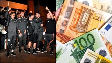 Câţi bani a câştigat CFR Cluj pentru al patrulea titlu consecutiv în Liga 1! Are asigurat şi primul cec de la UEFA