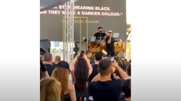 Puya, concert cu peste 500 de persoane la un club din Mamaia, fără respectarea vreunei reguli. Ce amendă au primit organizatorii. Video