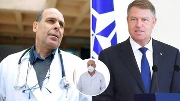 Medicul Virgil Musta îi dă replica lui Klaus Iohannis: