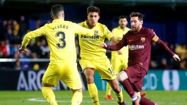 FC Barcelona-Villarreal 2-0. Victorie cu marcatori neașteptați pentru catalani: Pique și Alena. Video