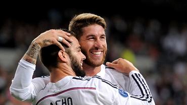 """Sergio Ramos e tot un zîmbet: """"Am fost INCREDIBILI!"""""""