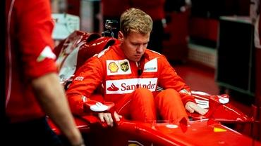 Probleme pentru Vettel: