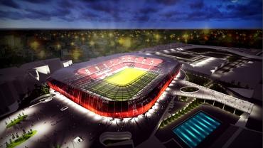 Răzvan Burleanu a anunțat locația noului stadion Dinamo. Cine susține proiectul