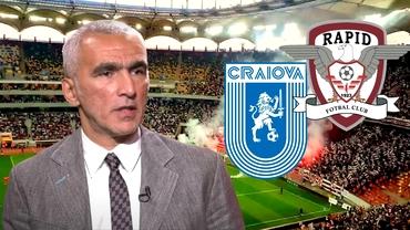 """Adrian Iencsi a prefațat derby-ul Rapid - Universitatea Craiova: """"Are șanse foarte mari de a câștiga campionatul!"""". Exclusiv"""