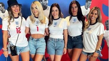 Anglia contraatacă în finala sexului frumos de la EURO 2020. Cum arată iubitele starurilor lui Gareth Southgate. Foto