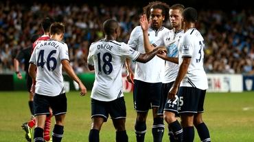 VIDEO / Chiricheş are coechipieri puşi pe farse la Tottenham