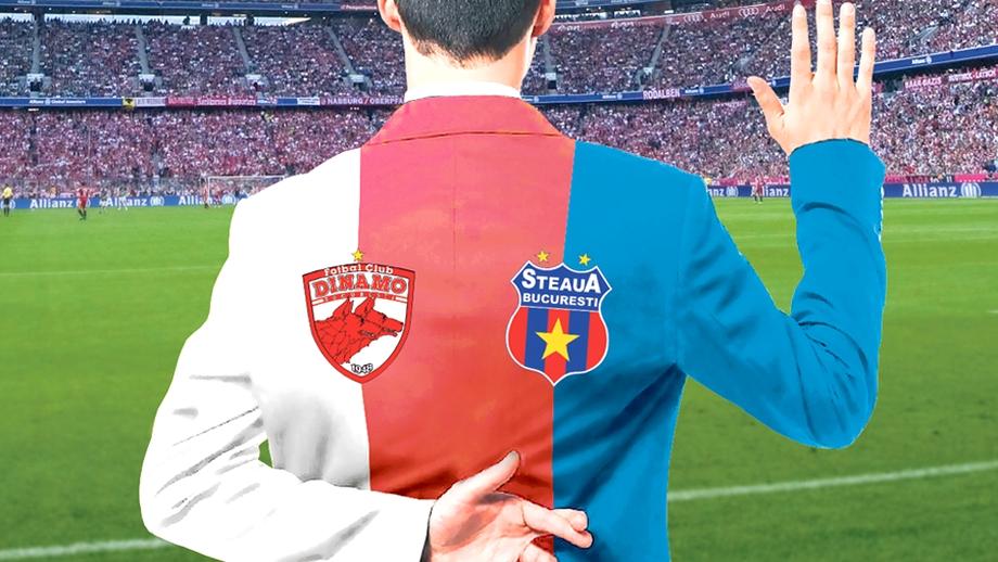 Ei AU TRĂDAT Dinamo pentru Steaua. Şi INVERS!
