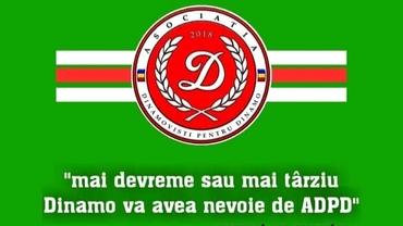 """ADPD face un apel dramatic pentru salvarea lui Dinamo. Cornel Dinu: """"Nu mai este timp de orgolii, de jigniri, de înjurături între suporteri. Dinamo moare sub ochii noștri"""". Exclusiv"""