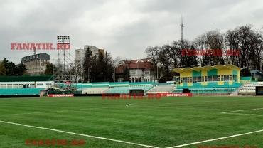 Ultimele imagini cu arena din Suceava înainte de meciul de Cupă Foresta - Dinamo. Terenul arată impecabil. VIDEO + FOTO EXCLUSIV